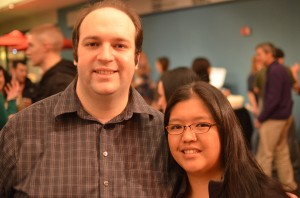 Justin Yorke and Liana Shanes at Washington Beer Lover's Belgianfest 2012